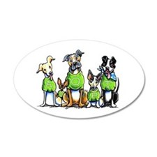 Adopt Shelter Dogs Wall Decal