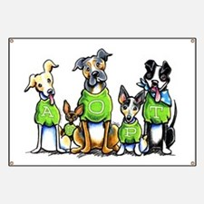 Adopt Shelter Dogs Banner