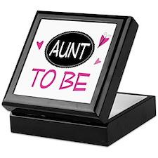 Aunt To Be Keepsake Box