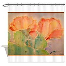 Cactus! Colorful southwest art! Shower Curtain