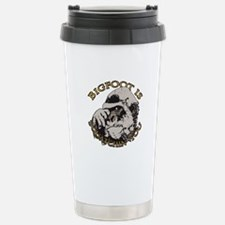 Bigfoot is Squatchin you Travel Mug