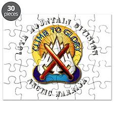 Emblem - 10th Mtn Div - Arctic - DUI Puzzle