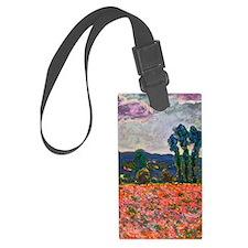 Monet - Poppy Field Luggage Tag
