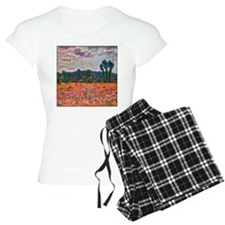 Monet - Poppy Field Pajamas