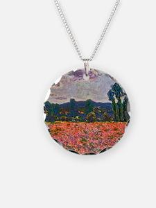 Monet - Poppy Field Necklace