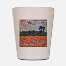 Monet - Poppy Field Shot Glass