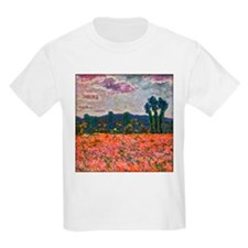 Monet - Poppy Field T-Shirt