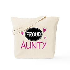 Proud Aunty Tote Bag