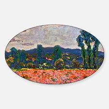 Monet - Poppy Field Decal