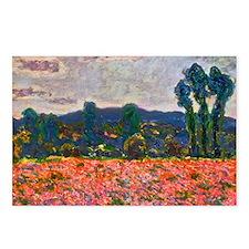 Monet - Poppy Field Postcards (Package of 8)