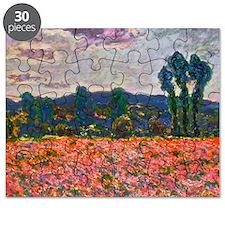 Monet - Poppy Field Puzzle