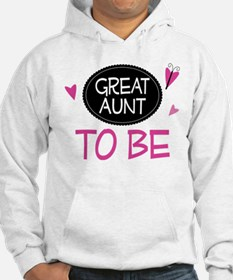 Great Aunt To Be Hoodie