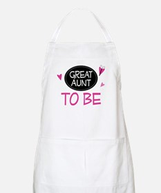 Great Aunt To Be Apron