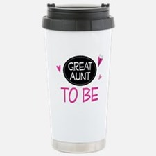 Great Aunt To Be Travel Mug