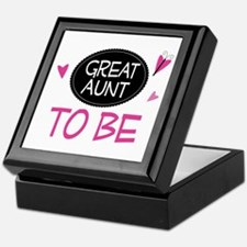 Great Aunt To Be Keepsake Box