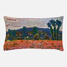 Monet - Poppy Field Pillow Case