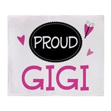 Proud Gigi Throw Blanket
