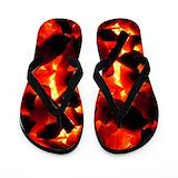 Hot coals Flip Flops