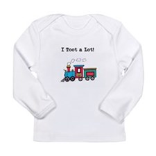 Toot A Lot Long Sleeve Infant T-Shirt