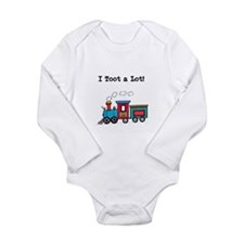 Toot A Lot Long Sleeve Infant Bodysuit