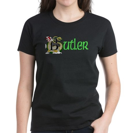 Butler Celtic Dragon Women's Dark T-Shirt