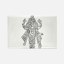 Vishnu Rectangle Magnet