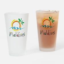 Maldives Drinking Glass