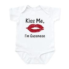 Kiss Me, I'm Guyanese Infant Bodysuit