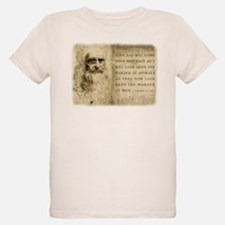 Da Vinci Animal Quote T-Shirt