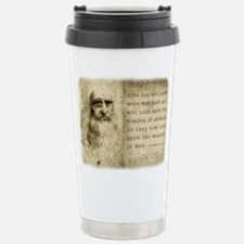 Da Vinci Animal Quote Travel Mug