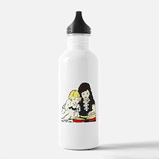 A Good Book Water Bottle