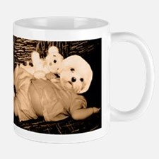 dog headed baby Mug