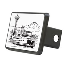 Space Needle and Ferry Hitch Cover