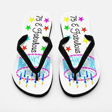 WONDERFUL 75TH Flip Flops