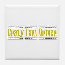 Crazy Taxi Driver Tile Coaster
