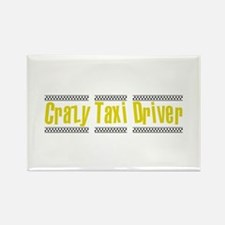 Crazy Taxi Driver Rectangle Magnet (100 pack)