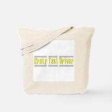 Crazy Taxi Driver Tote Bag