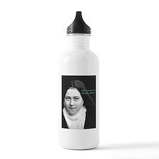 Words from Sainte Thérèse de Lisieux Botella de ag