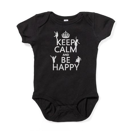 be-happy-dance-m Baby Bodysuit
