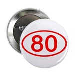 Number 80 Oval 2.25
