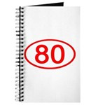 Number 80 Oval Journal