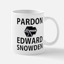 Pardon Edward Snowden Mug