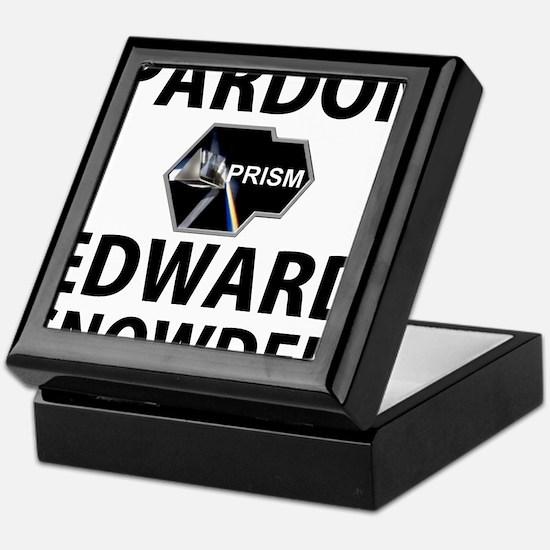 Pardon Edward Snowden Keepsake Box