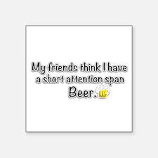 Short Attention Span (centxt) Sticker