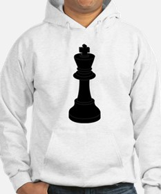 Black King Chess Piece Hoodie