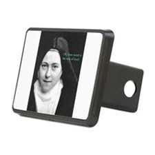 Saint Theresa of the Little Flower Hitch Cover