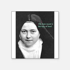 Saint Theresa of the Little Flower Sticker