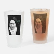 Saint Theresa of the Little Flower Drinking Glass