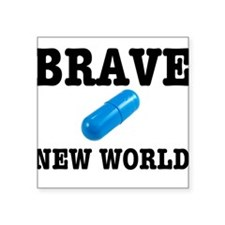 Brave New World Sticker