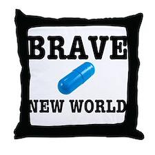 Brave New World Throw Pillow